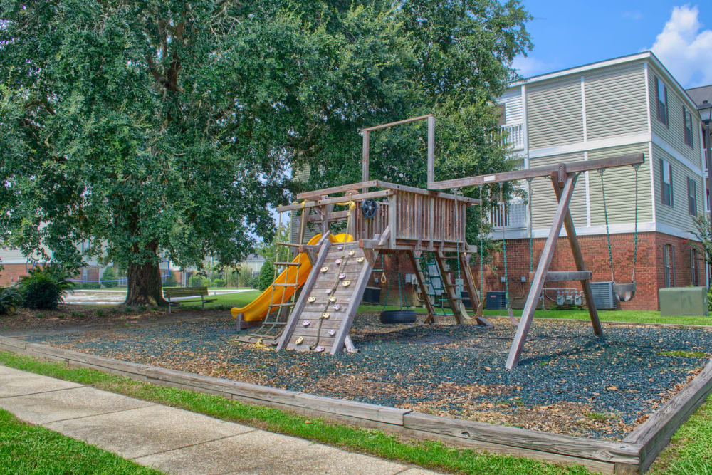 Beautiful playground at The Grove in Biloxi, Mississippi