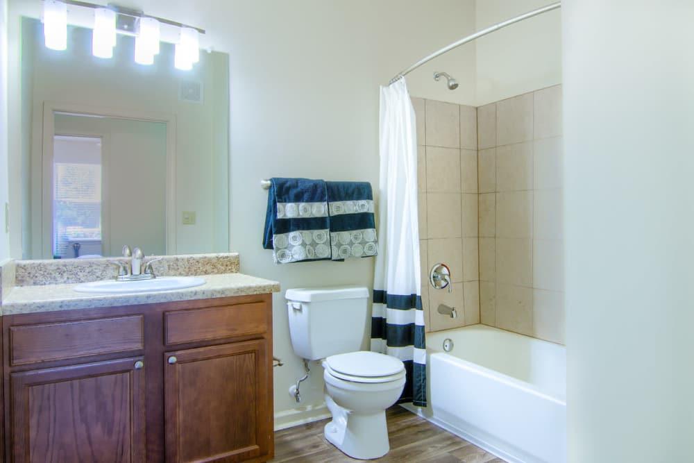 Luxury bathroom at Woodside in Mobile, Alabama