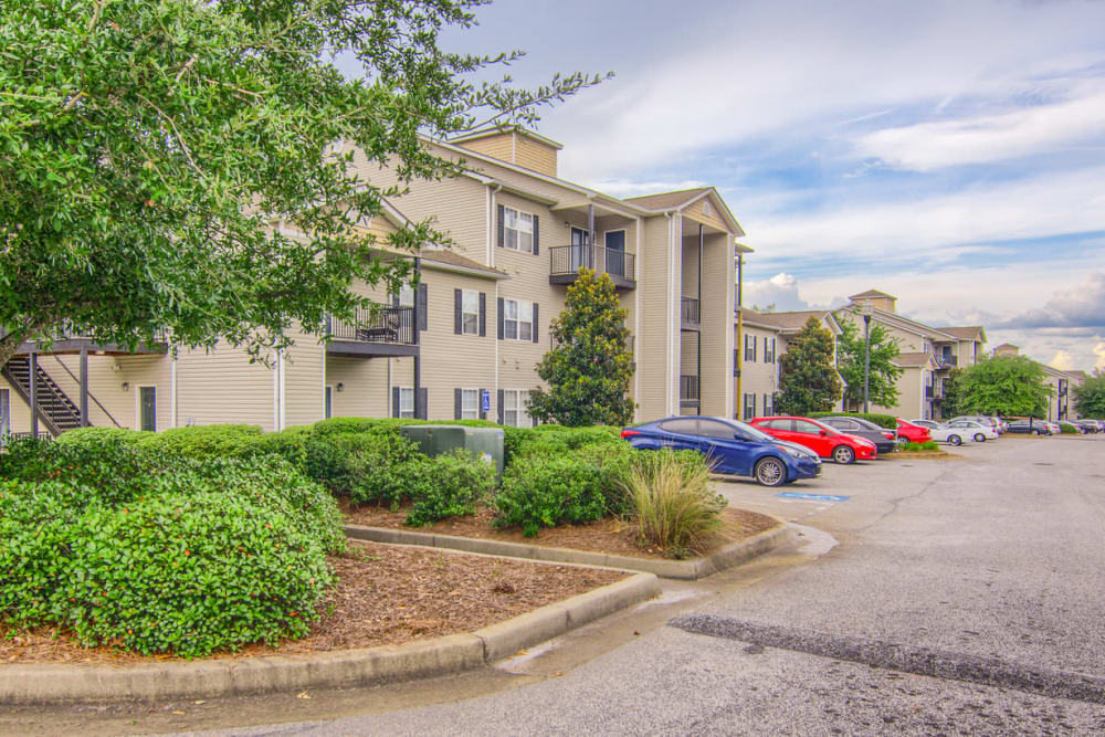 Apartments with parking at Rutland Place in Macon, Georgia