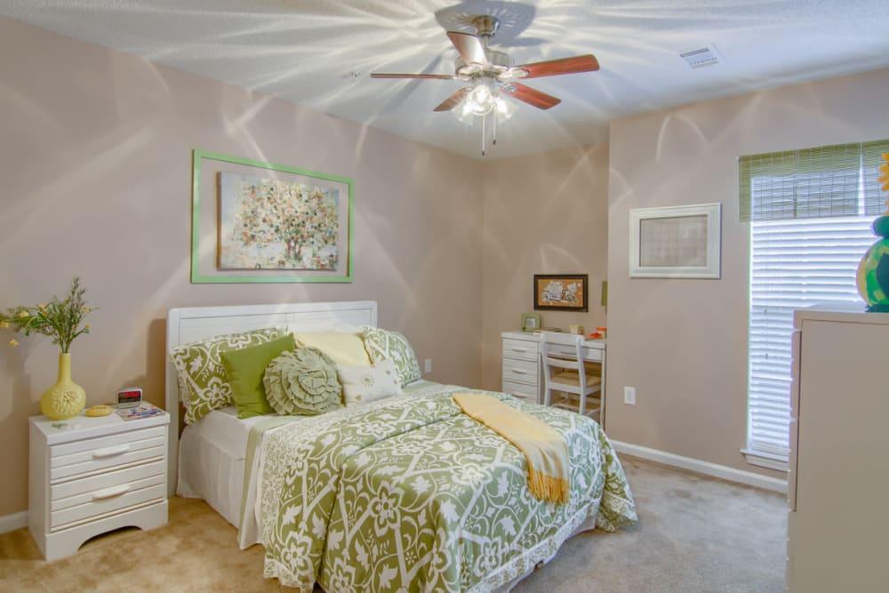 Beautiful bedroom at North Park at Eagle's Landing in Stockbridge, Georgia
