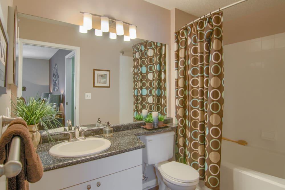 Beautiful bathroom at North Park at Eagle's Landing in Stockbridge, Georgia