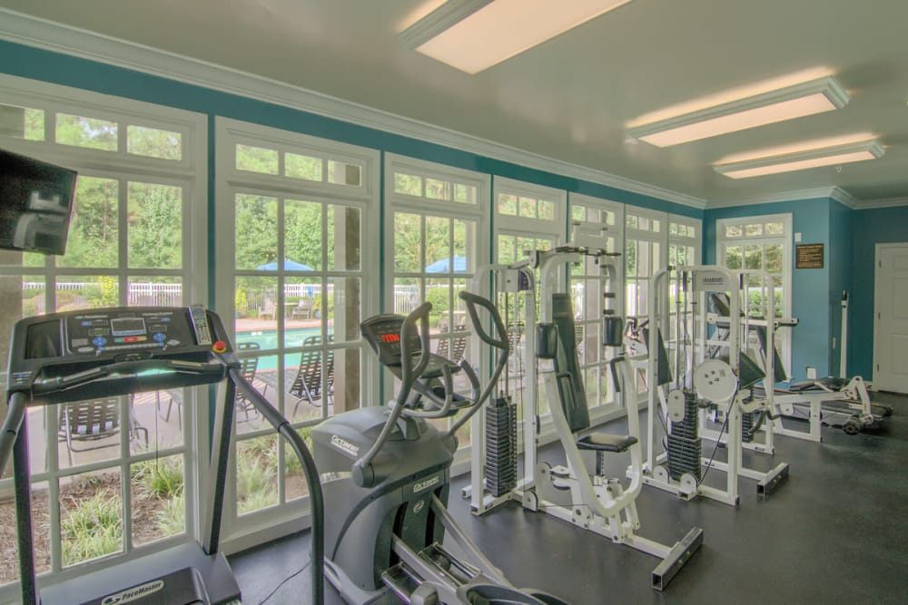 Fitness center at North Park at Eagle's Landing in Stockbridge, Georgia