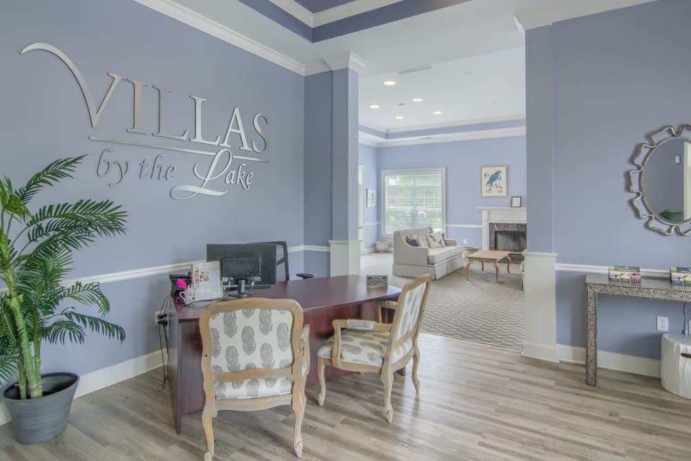 Beautiful lounge at Villas by the Lake in Jonesboro, Georgia