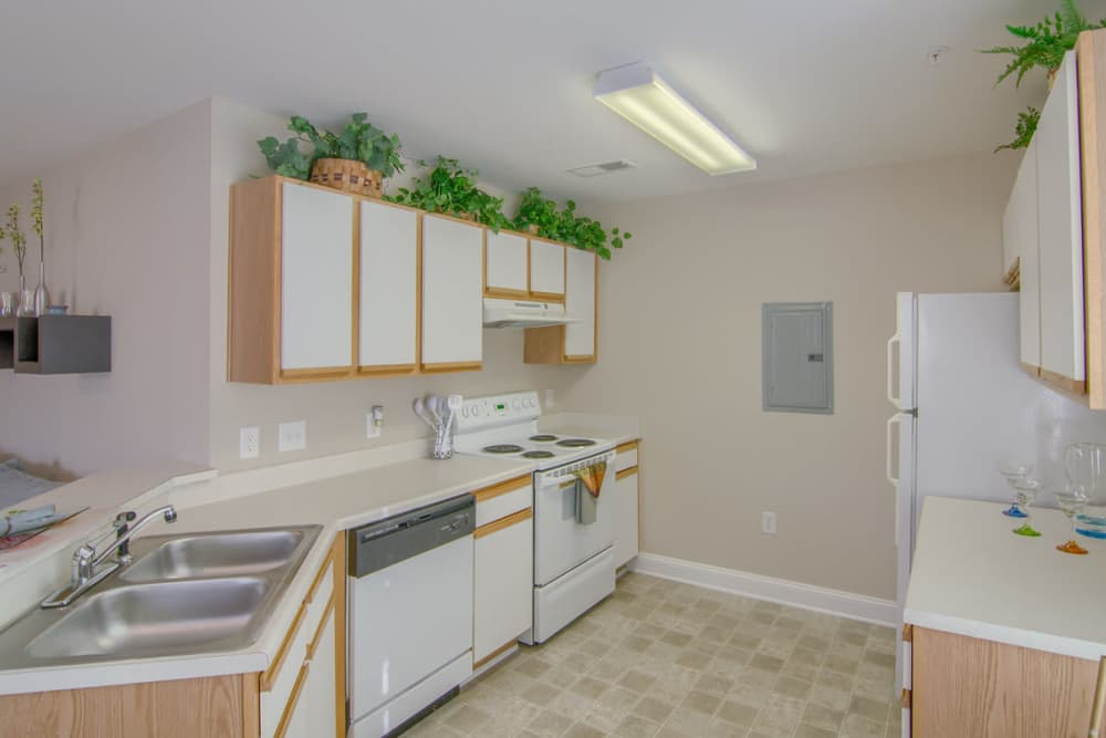 Luxury kitchen at Park at Clearwater in Aberdeen, North Carolina