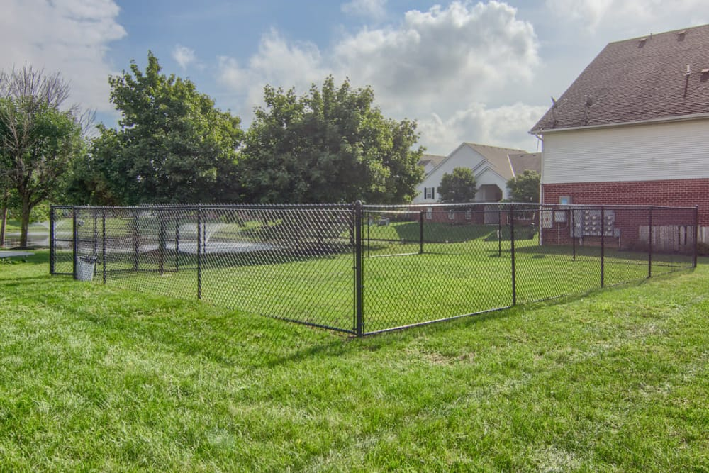 Dog Park at Gateway Lakes Apartments in Grove City, Ohio