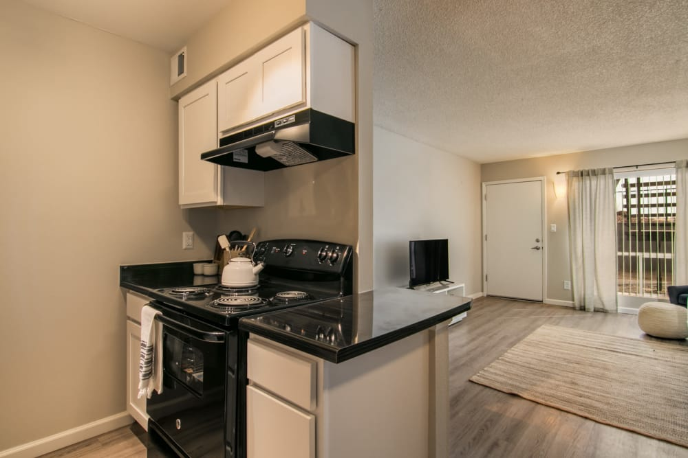Modern apartments with energy-efficient appliances in Albuquerque, New Mexico