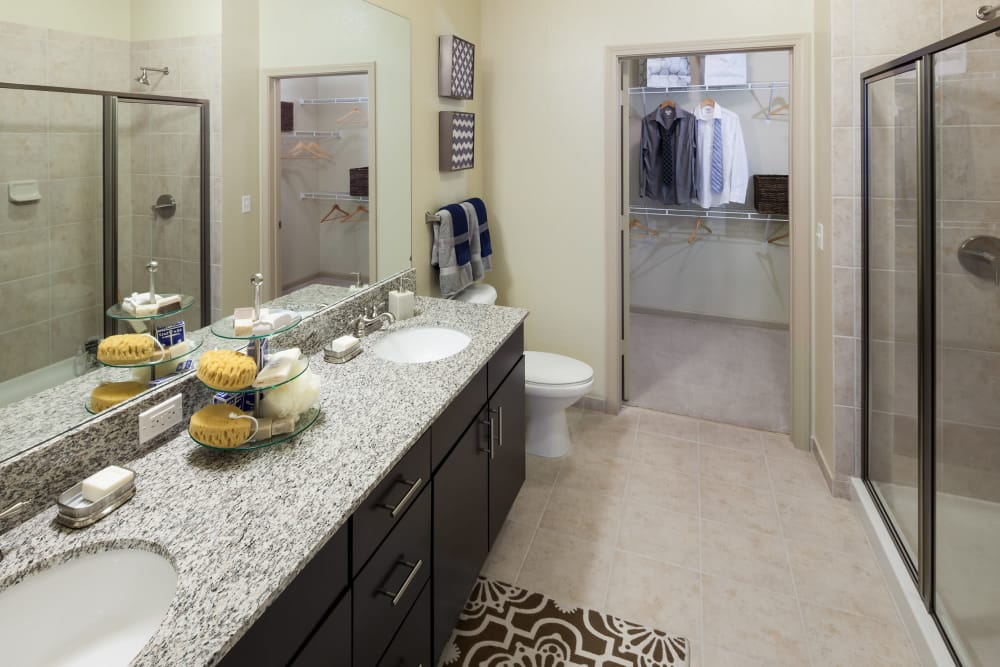 Luxury bathroom at Jefferson Westshore in Tampa, Florida