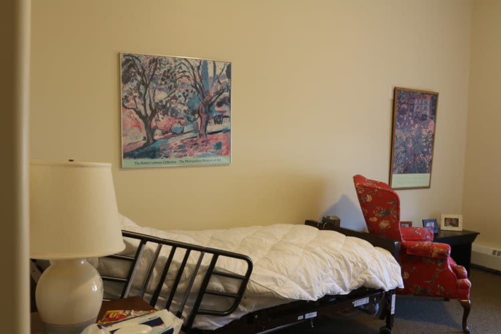 Bedroom at Evolve at Rye in Rye, New Hampshire