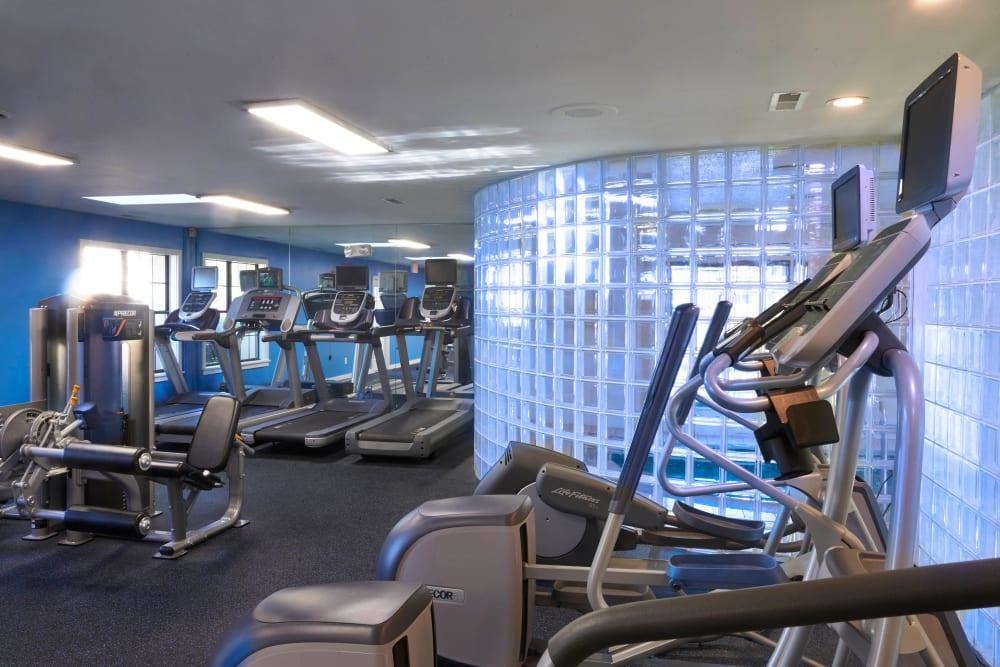Fitness center at Muirwood in Farmington Hills, Michigan