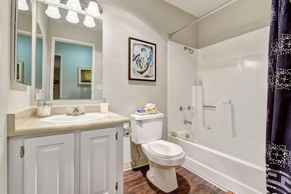 Bathroom at Terra Martinez in Martinez, California