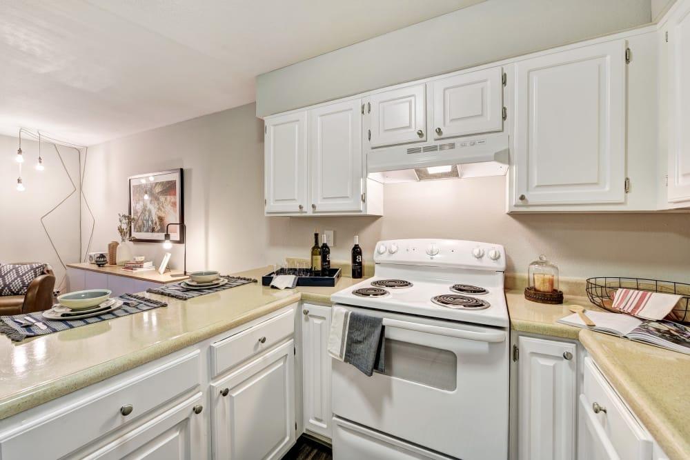 Kitchen interior at Terra Martinez in Martinez, California