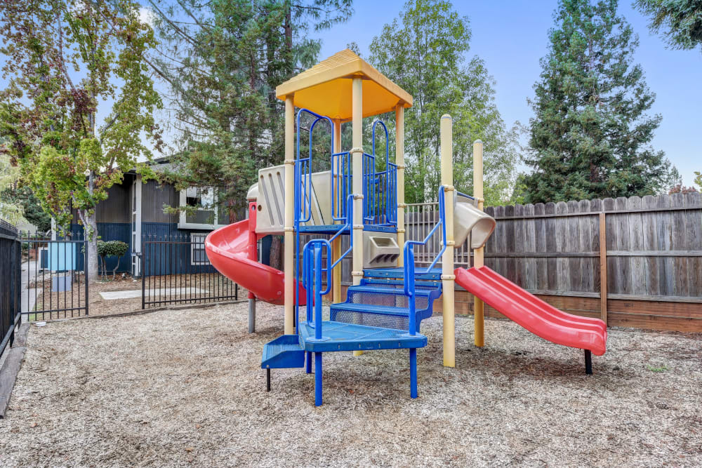 Outdoor playground at Terra Martinez in Martinez, California