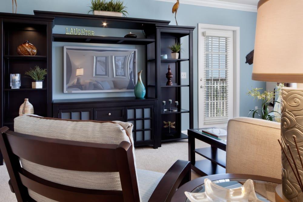 TV in living room at Villa Grande on Saxon in Orange City, Florida