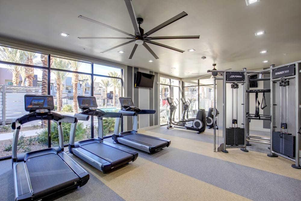 Fitness center at Empire | Apartments in Henderson, NV