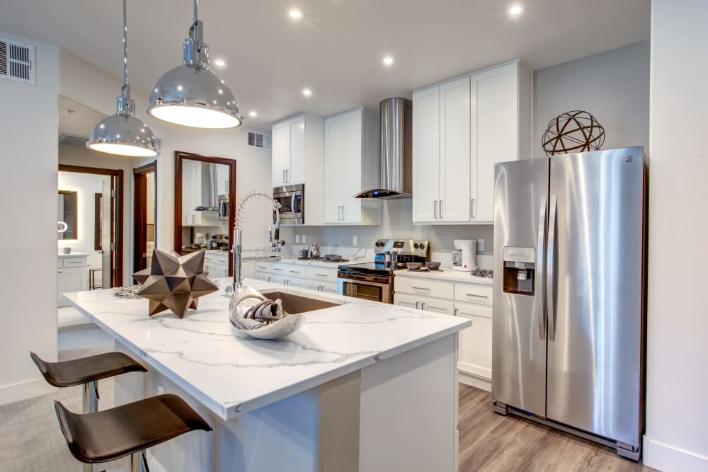 Chef-inspired kitchen at Empire | Apartments in Henderson, Nevada
