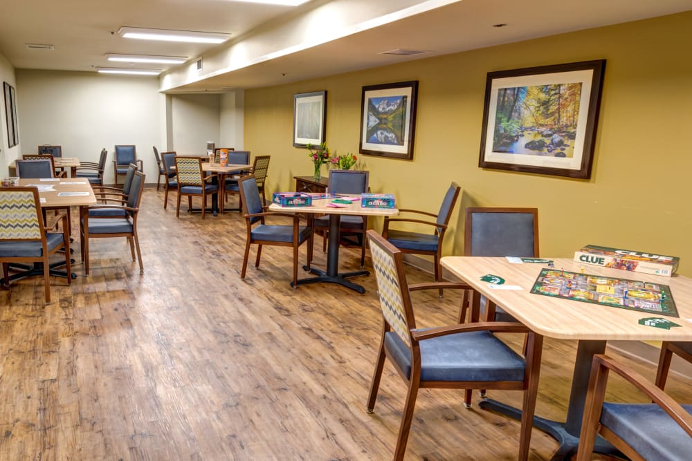 Northglenn Heights Assisted Living activity room