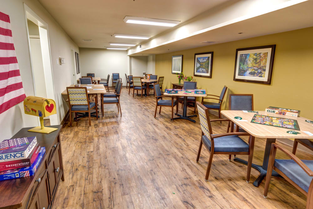 Northglenn Heights Assisted Living game room