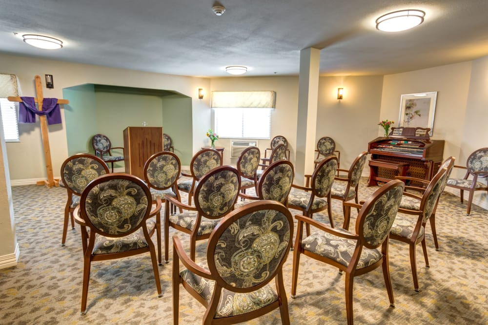 Northglenn Heights Assisted Living chapel