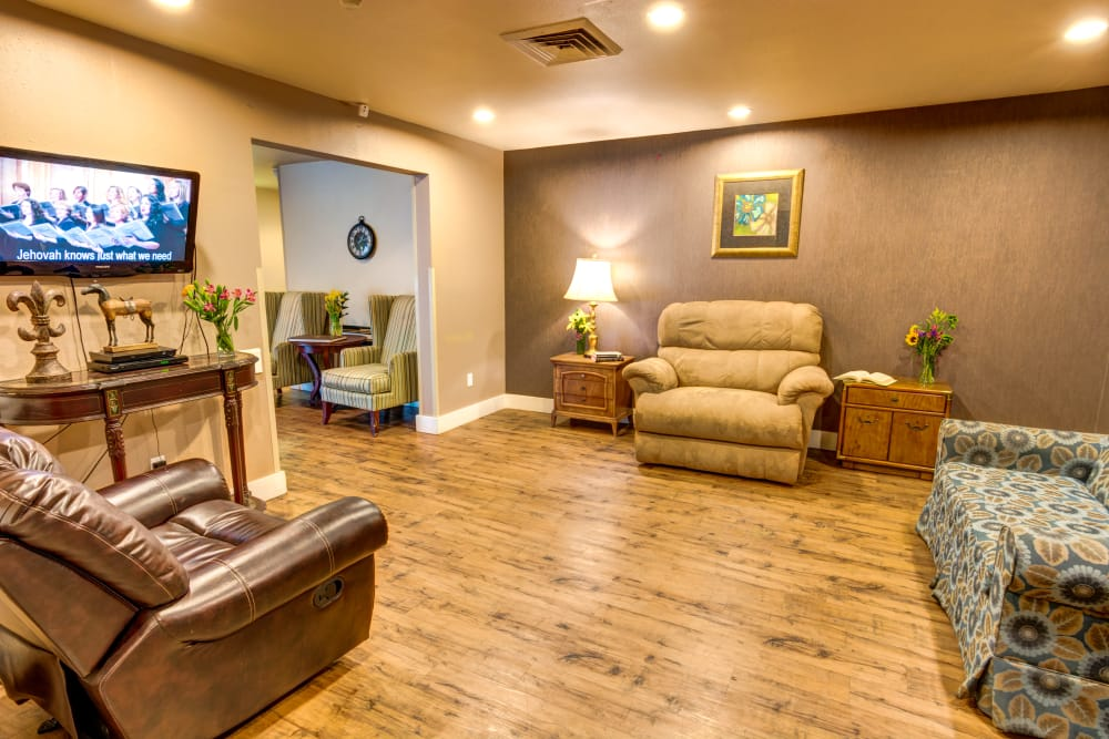 Northglenn Heights Assisted Living great room