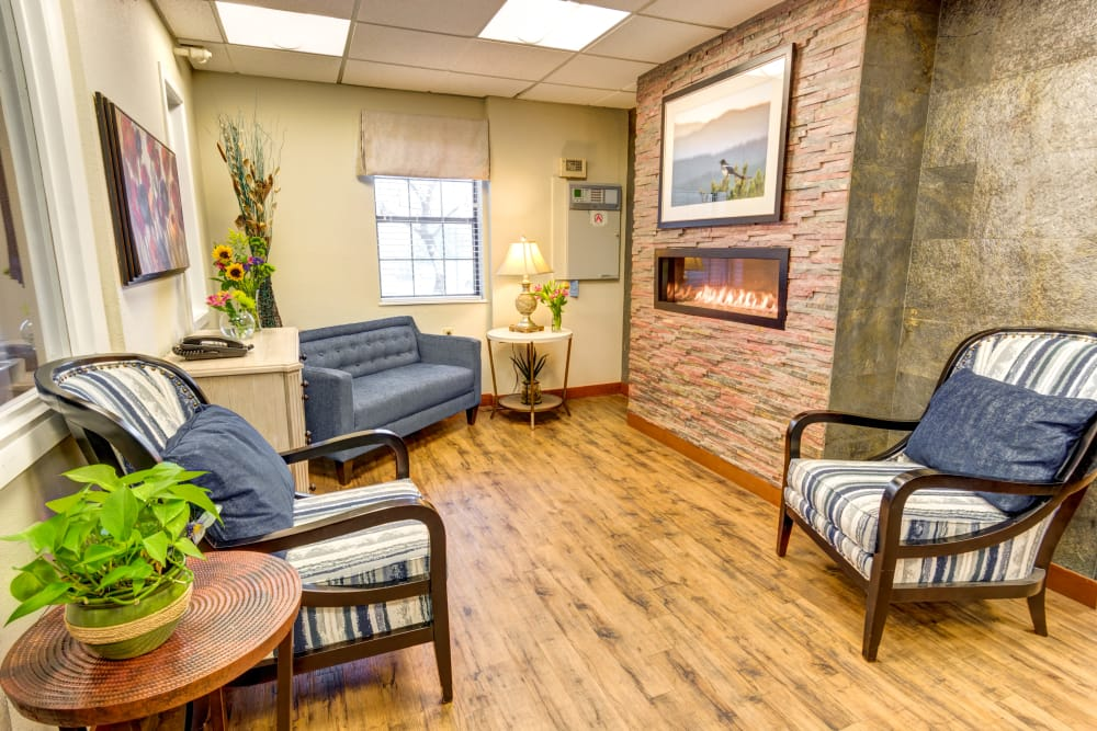 Northglenn Heights Assisted Living sitting area