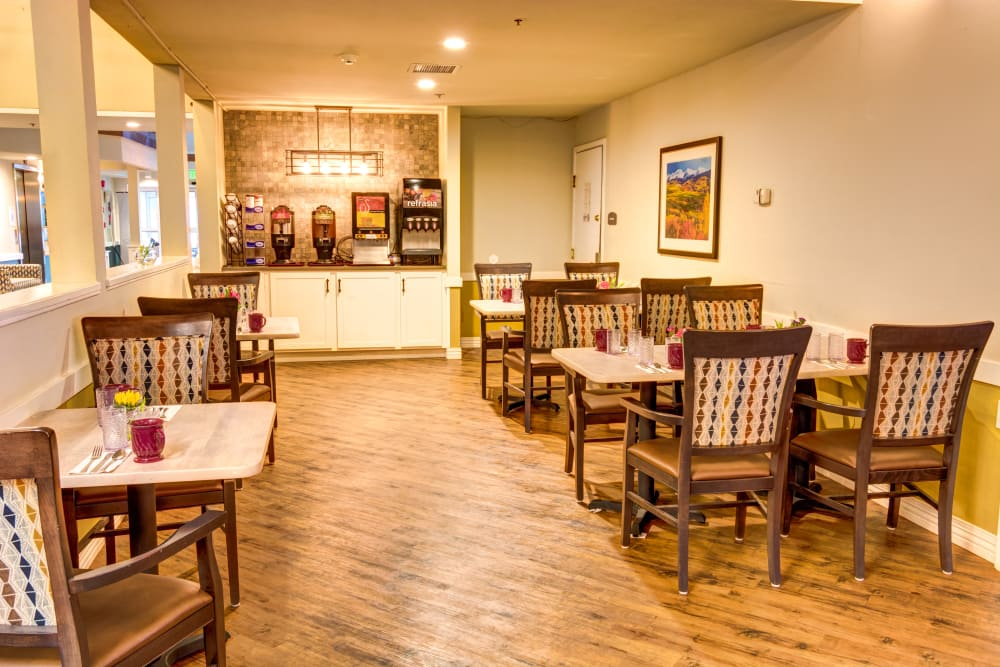 Northglenn Heights Assisted Living bistro