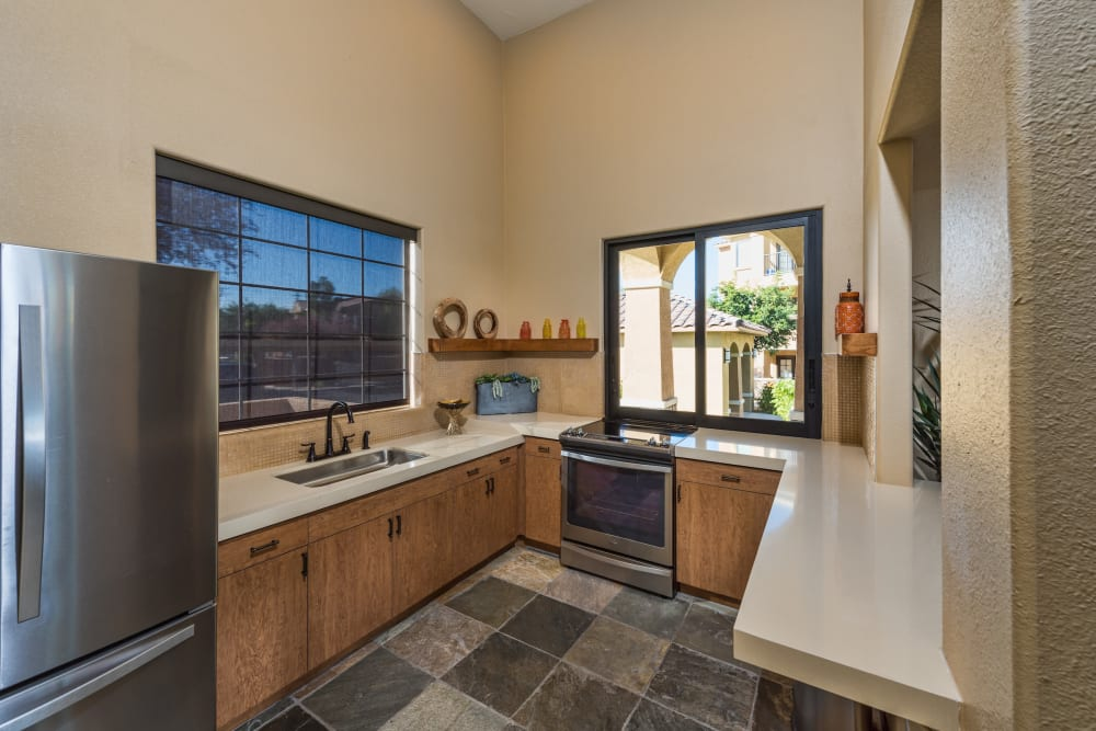In-home washer and dryer at Stone Oaks in Chandler, Arizona