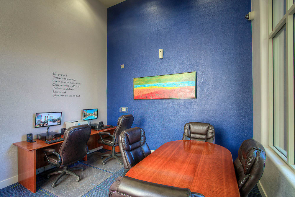 Community business center at Park on Bell in Phoenix, Arizona