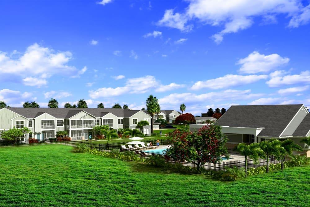 Beautiful exterior of Springs at Port Orange in Port Orange, Florida
