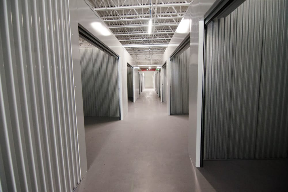 Interior units at A+ Mini Storage in Miami, FL