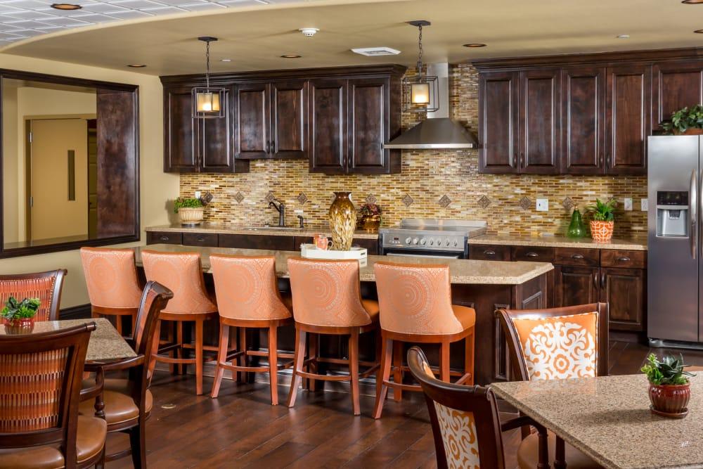 Kitchen at Meridian at Stone Creek in Milton, Washington