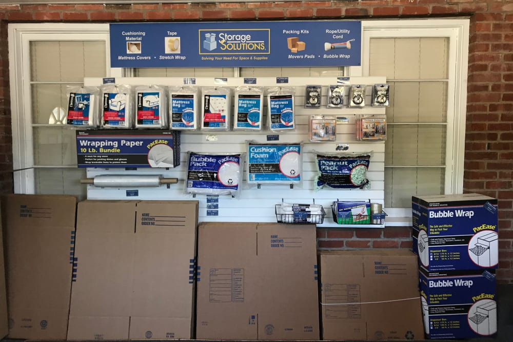 Storage supplies from Storage Solutions in Fremont, California