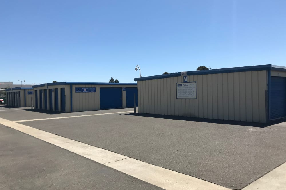 Storage options at Storage Solutions in Fremont, California
