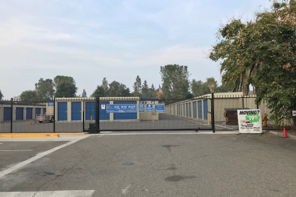 Safe and Secure Storage Units at Storage Solutions in Manteca, California
