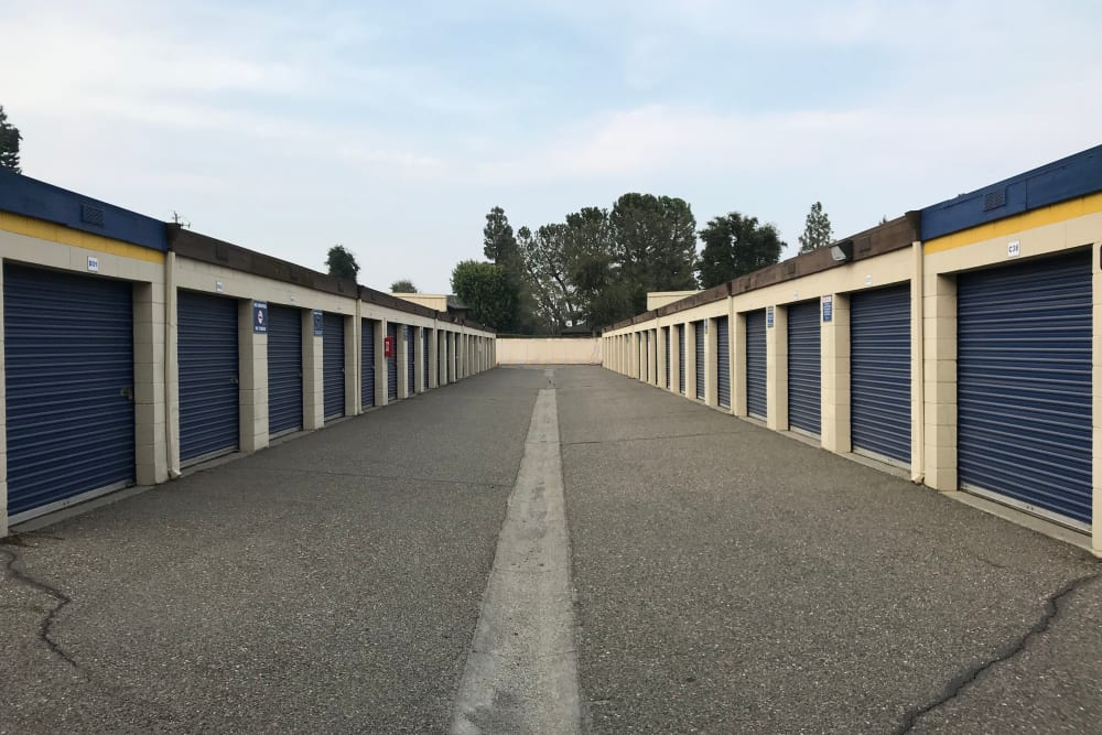 Storage options at Storage Solutions in Manteca, California