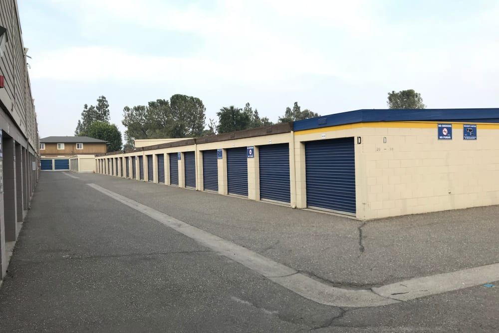 Outdoor Storage Units at Storage Solutions in Manteca, California