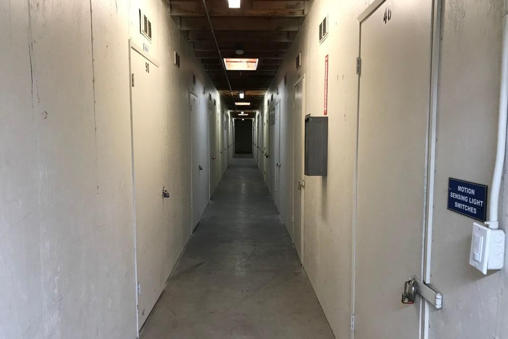 Indoor Storage Units at Storage Solutions in Manteca, California