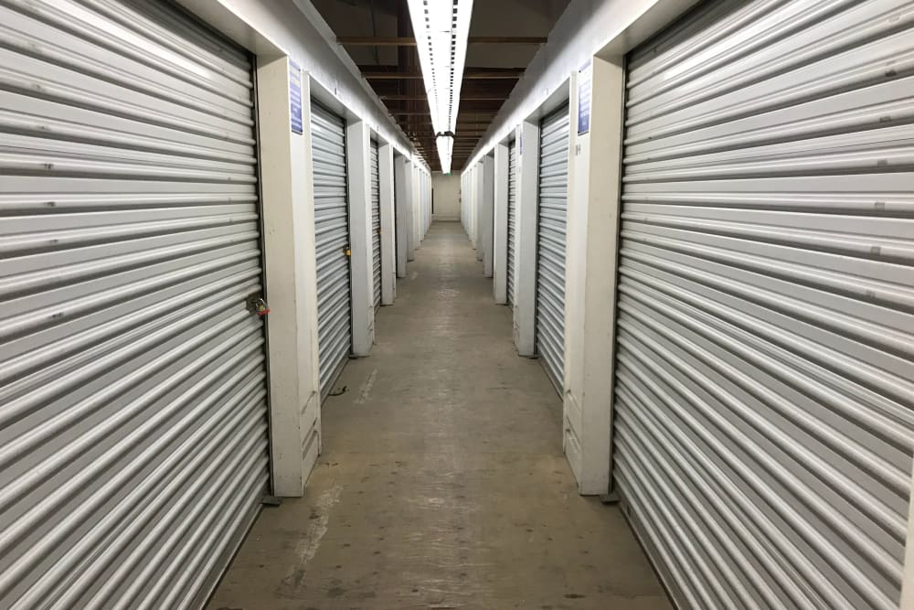 Interior Storage Units at Storage Solutions in San Jose, California