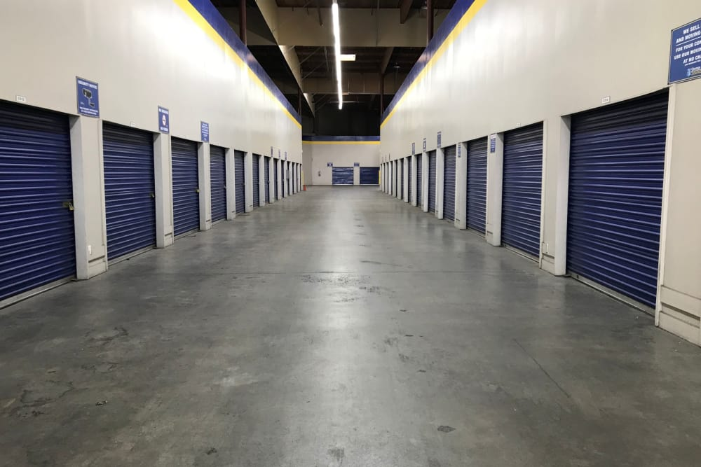 Storage Units at Storage Solutions in San Jose, California