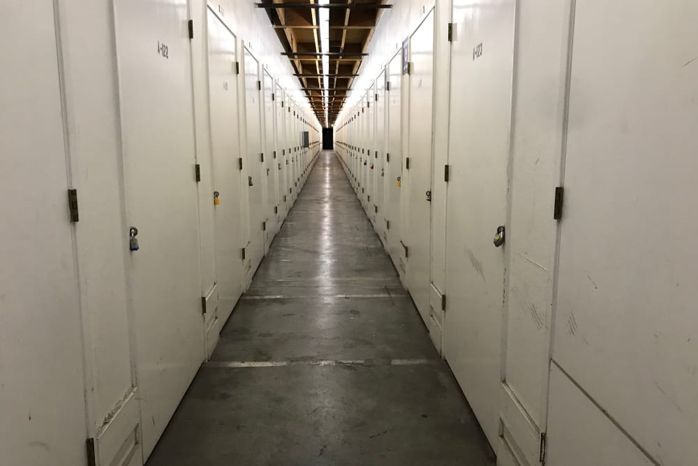 Storage Lockers at Storage Solutions in San Jose, California