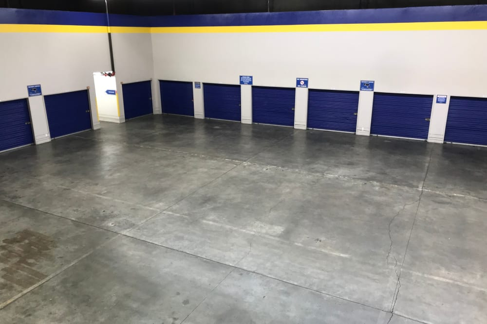 Large Storage Space at Storage Solutions in San Jose, California