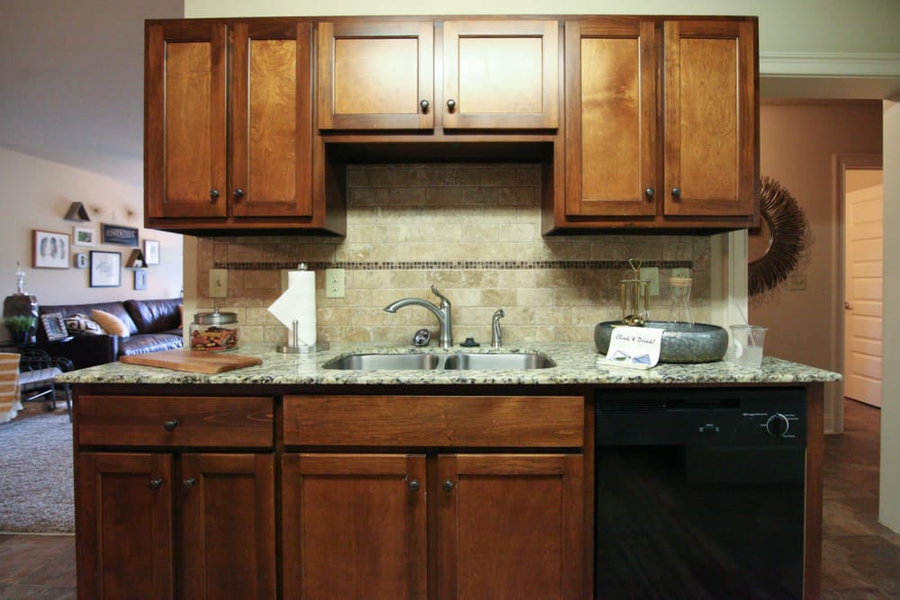 Kitchen at The Grove at Stone Park in Pike Road, Alabama