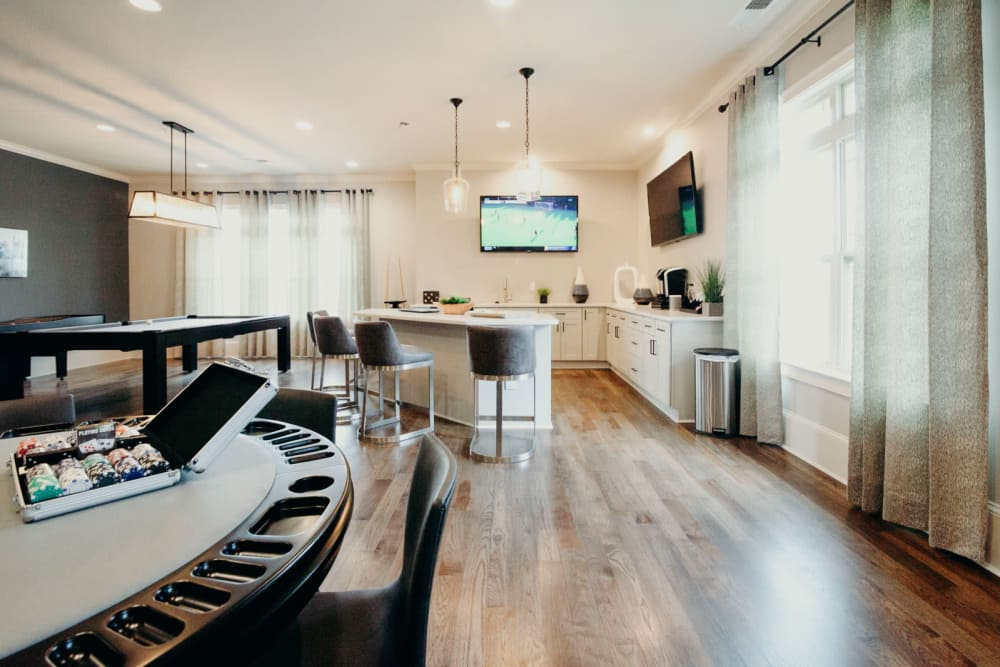 Enjoy Apartments with a Game Room at The Grove at Stone Park
