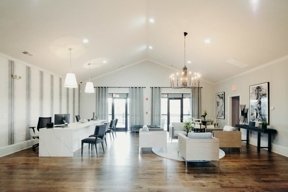 Our Apartments in Pike Road, Alabama showcase a Beautiful Clubhouse
