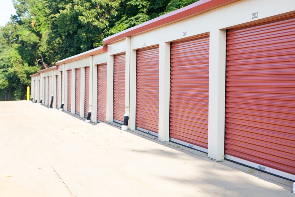 Outside Units at Summit Self Storage - Chapel Hill in Akron, Ohio