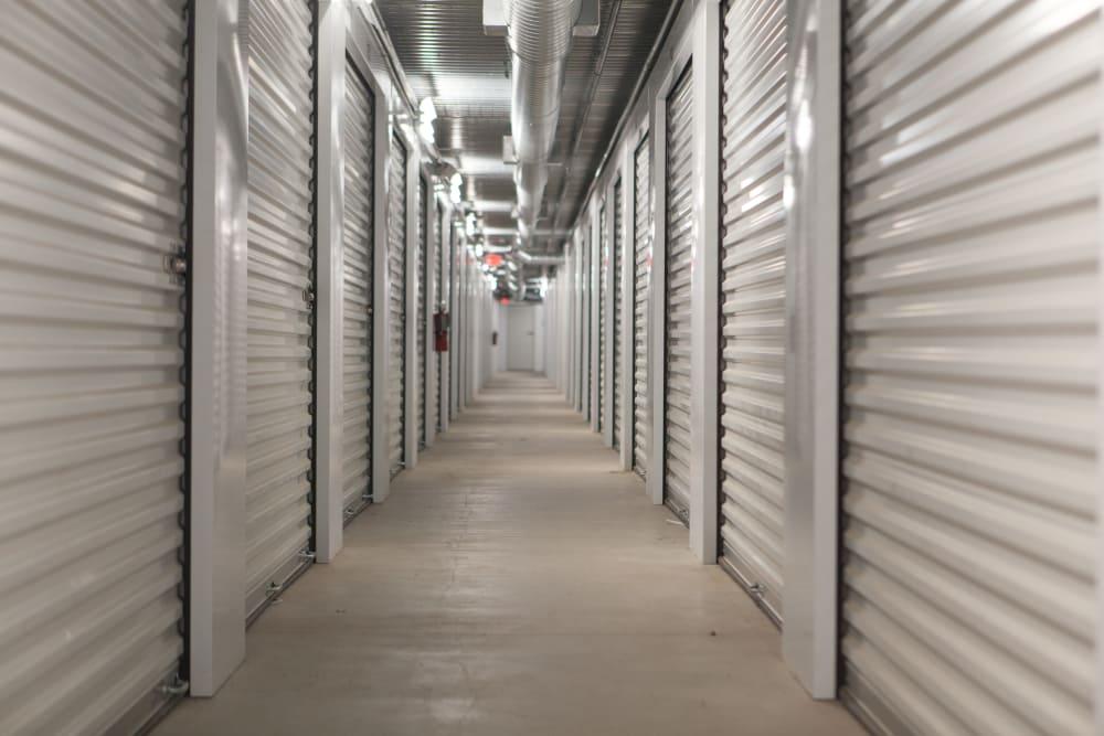 Indoor Storage units at Summit Self Storage - Chapel Hill in Akron, Ohio