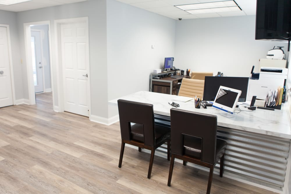 Office area at Summit Self Storage - Chapel Hill in Akron, Ohio