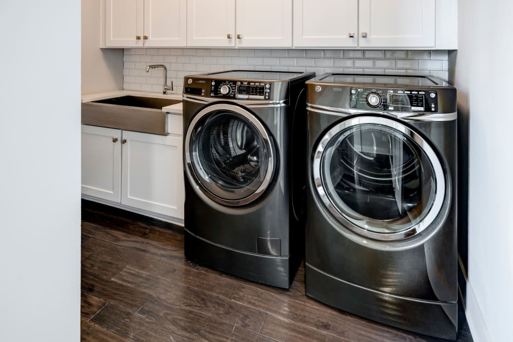 In-unit washer/dryers at Berkshire Dilworth in Charlotte, NC
