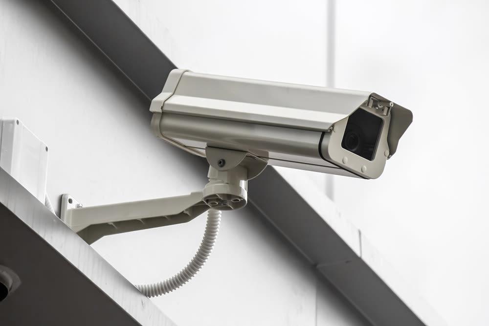 Digital surveillance system at Prime Storage in Asheville, North Carolina