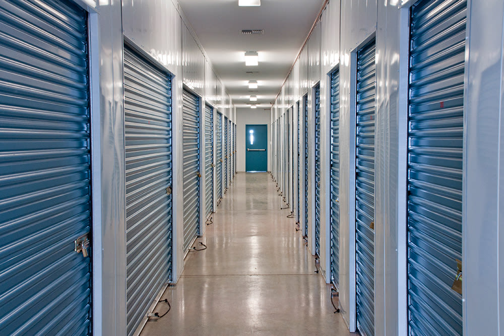 Hallway at Prime Storage in Asheville, North Carolina