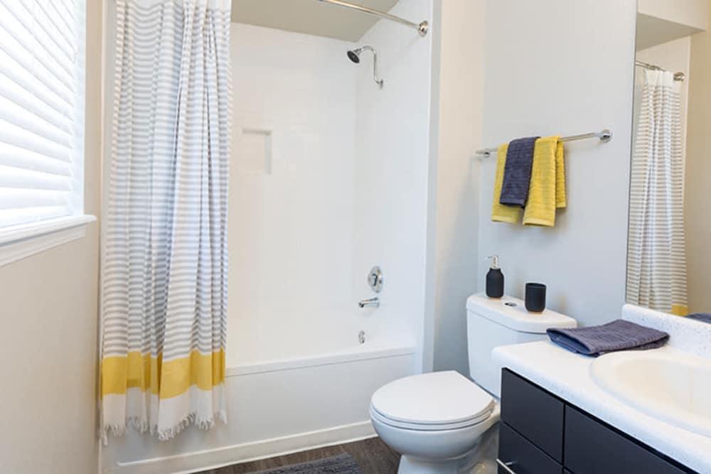 Bathroom at TAVA Waters in Denver, Colorado